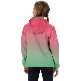 Regatta Anodize - Veste Enfant - vert/rose